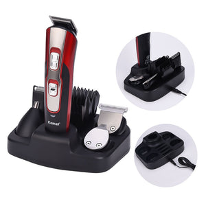 5 in 1 Hair Clipper - Multi Function Electric Shaver - Nose Hair Trimmer - Men's Grooming Kit