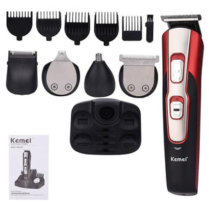5 in 1 Men's Hair Clipper – Grooming Kit-shavercentre.com.au