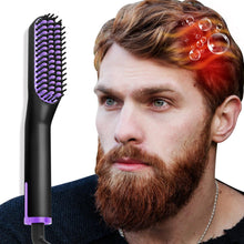 Load image into Gallery viewer, Automatic Beard Hair Straightener Brush-shavercentre.com.au