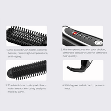 Load image into Gallery viewer, One Step Hair Straightener Brush-shavercentre.com.au