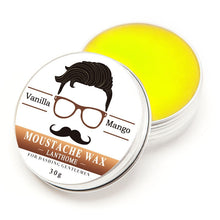 Load image into Gallery viewer, Lanthome Vanilla Mango Moustache Wax
