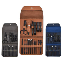 Load image into Gallery viewer, 16 Piece Nail Grooming Travel Kit