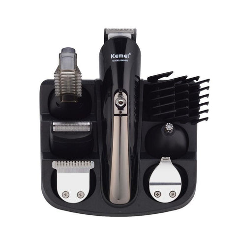 6-in-1 Multi-Functional Titanium Hair Clipper Kit-shavercentre.com.au