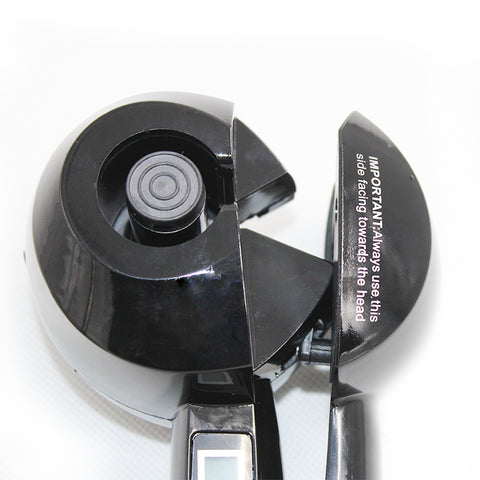 LCD Screen Automatic Hair Curler-shavercentre.com.au