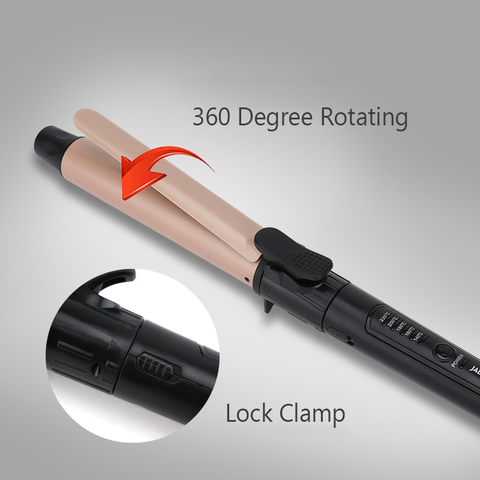 Titanium Rotating Curling Iron-shavercentre.com.au