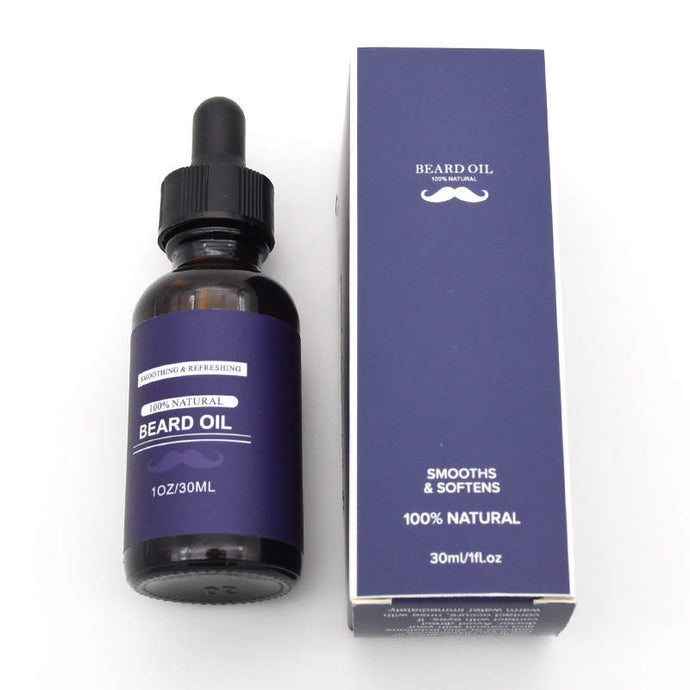 100% Natural Beard Oil For Men