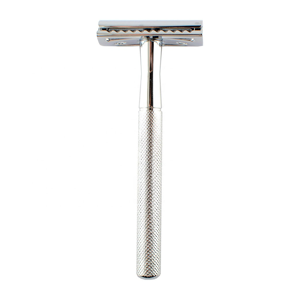 Classic Chrome Safety Razor-shavercentre.com.au