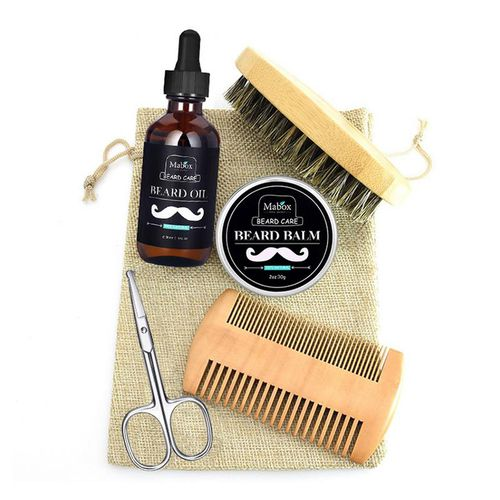 Mabox 5 Piece Beard Care Set