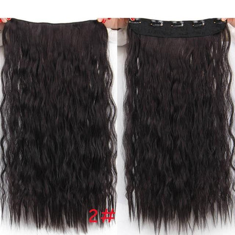 Image of Natural Synthetic Long Hair Clip-shavercentre.com.au
