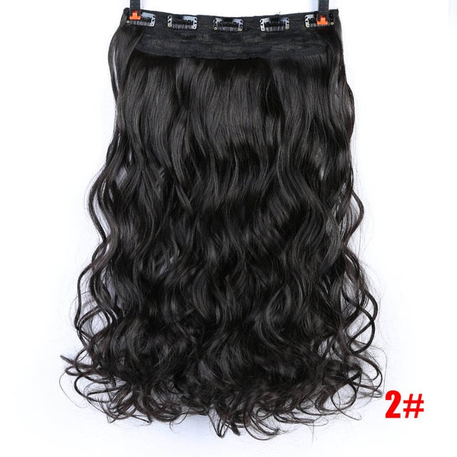Curly Full Hair Extensions-shavercentre.com.au