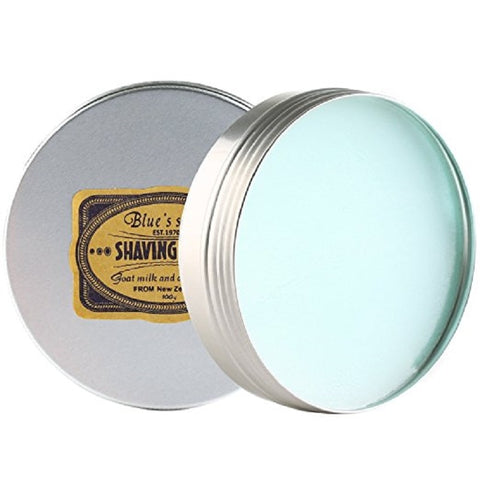 Image of Blue's Shaving Soap with Goats Milk-shavercentre.com.au