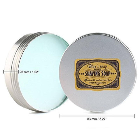 Blue's Shaving Soap with Goats Milk-shavercentre.com.au