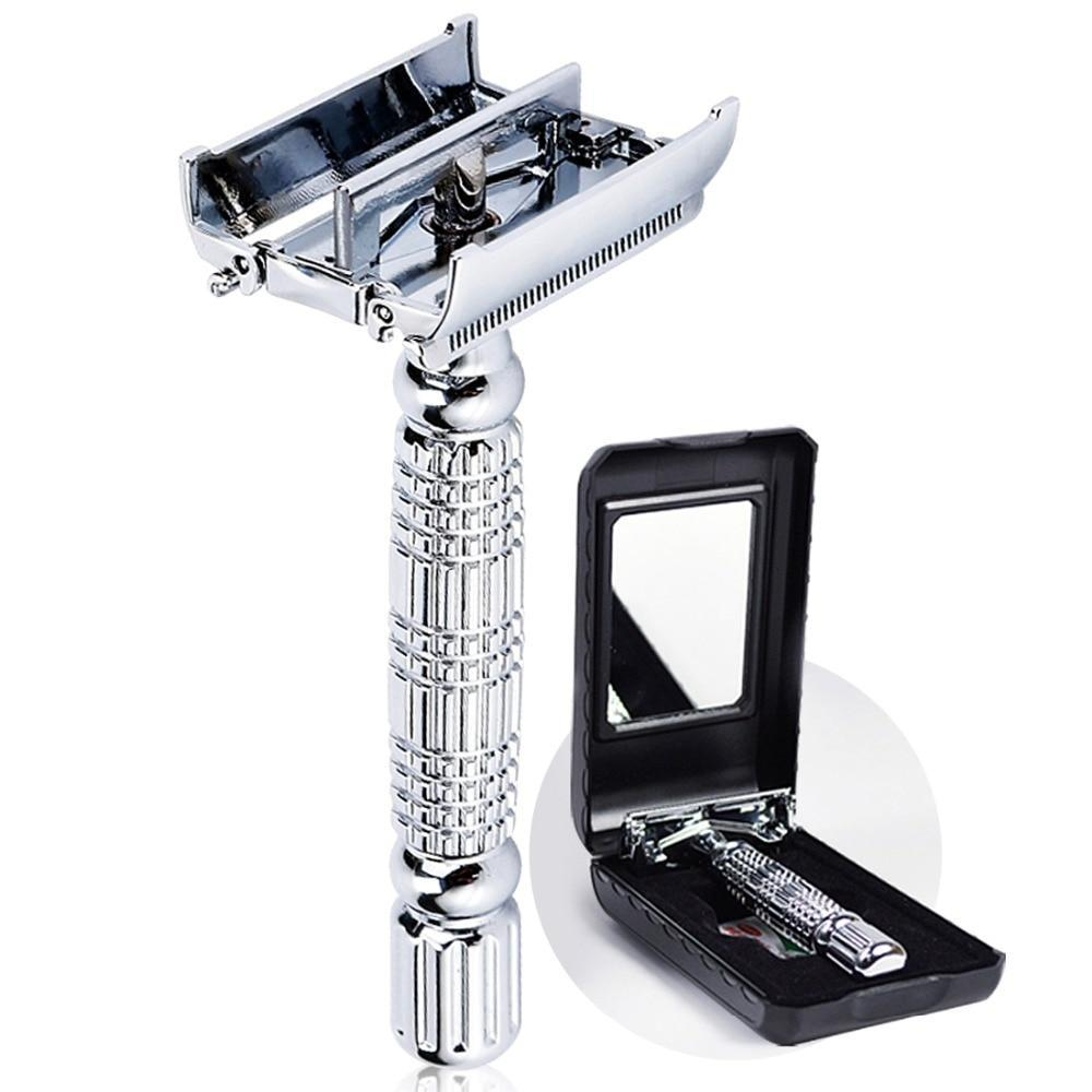 Butterfly Twist Safety Razor-shavercentre.com.au