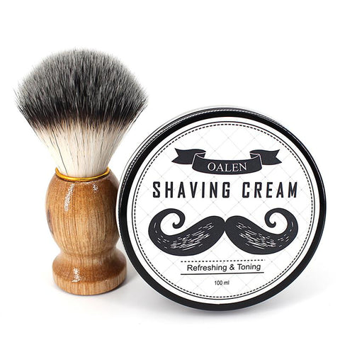 Image of Beard Shaving Kit Soap + Brush-shavercentre.com.au