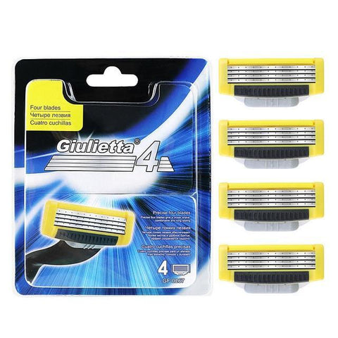 Image of Men's 4-Layer Razor Blades-shavercentre.com.au