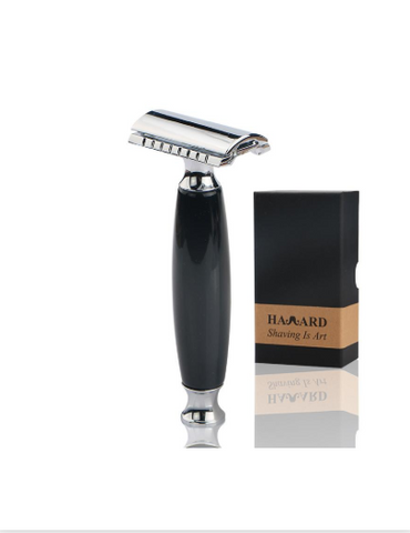 Image of Zinc Alloy Safety Razor + 5 Razors-shavercentre.com.au