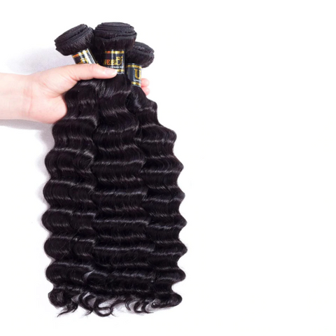 Image of Natural Peruvian Hair Bundle Extensions-shavercentre.com.au