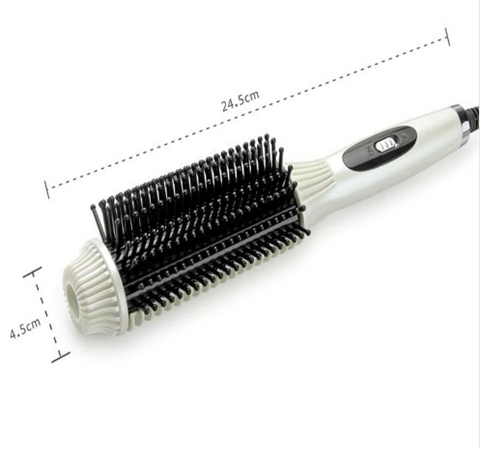 Image of Hair Curler Straightener Brush-shavercentre.com.au
