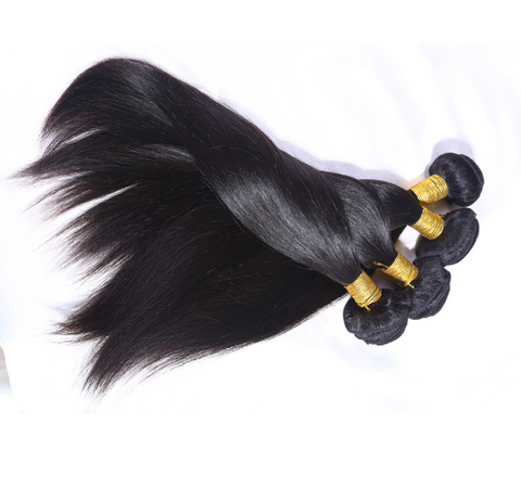Image of Peruvian Straight Hair Extension Bundles-shavercentre.com.au