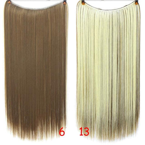 Image of Long Invisible Band Hair Extensions-shavercentre.com.au