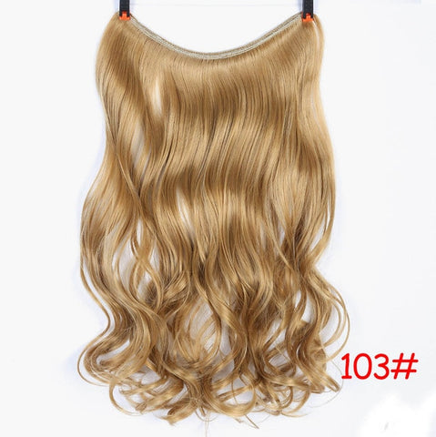 Image of Clip On Wire Hair Extensions-shavercentre.com.au