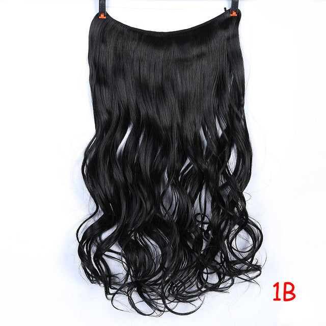 Clip On Wire Hair Extensions-shavercentre.com.au
