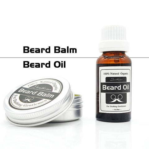 Image of 100% Natural and Organic Beard Balm And Beard Oil Set-shavercentre.com.au