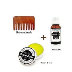 100% Natural and Organic Beard Balm And Beard Oil Set-shavercentre.com.au