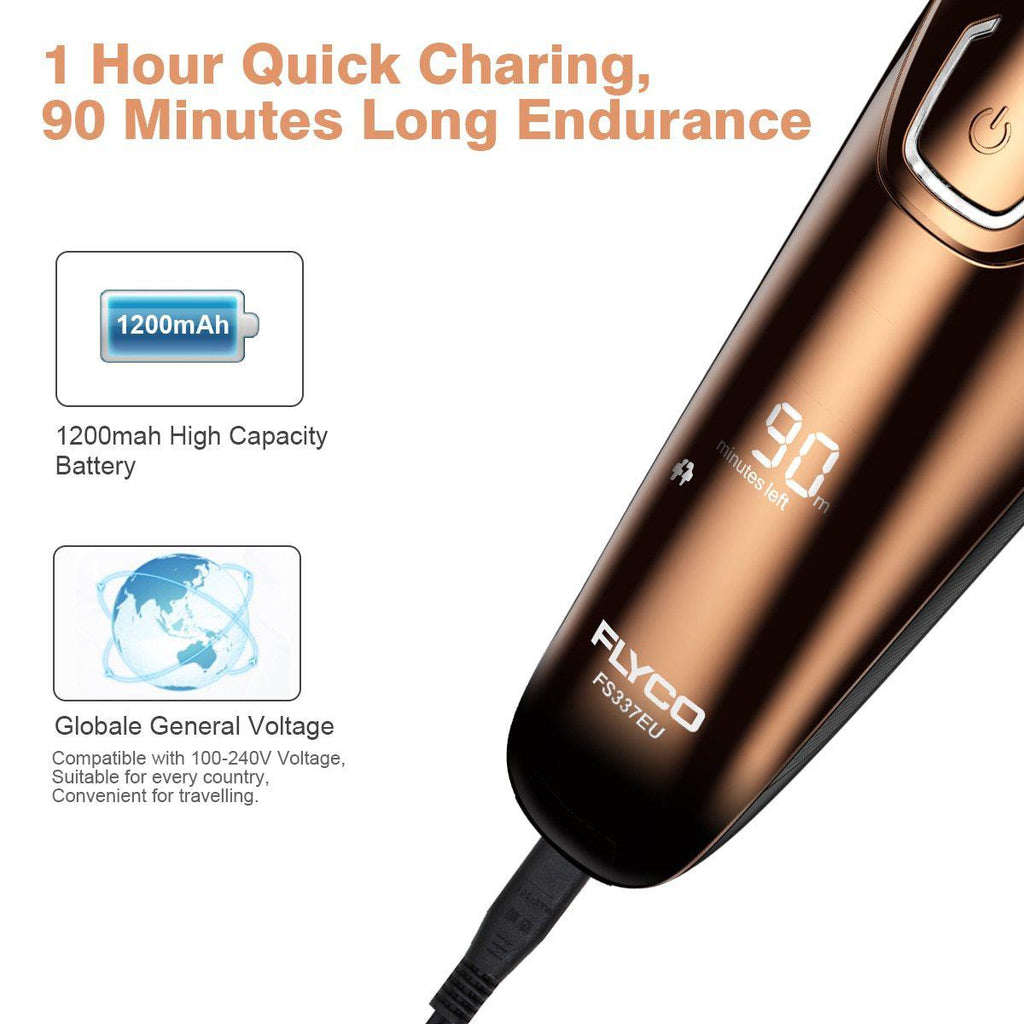 Vacuum Ion Plated Electric Shaver-shavercentre.com.au