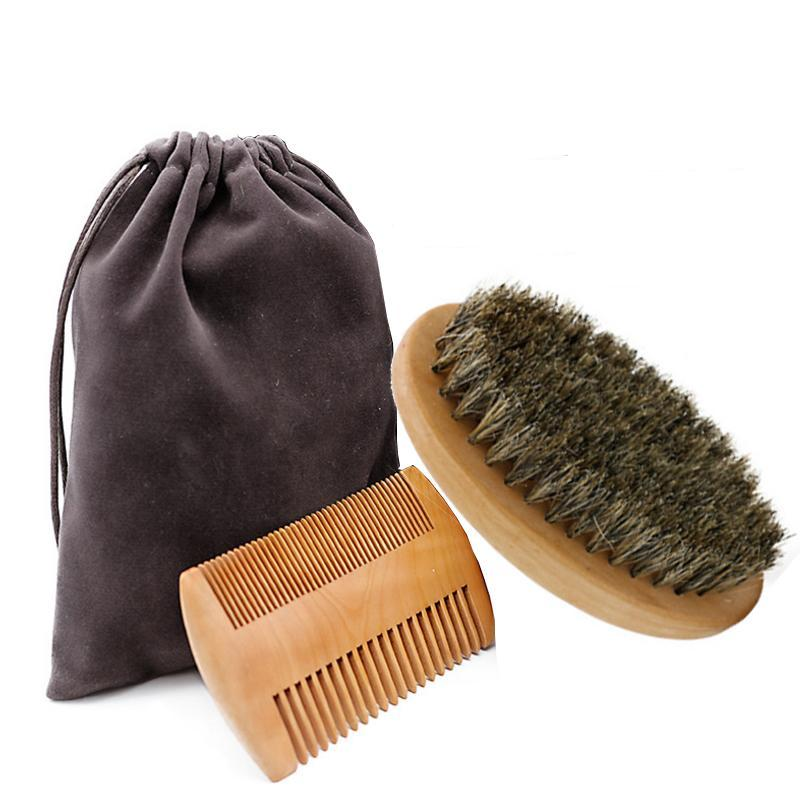 Soft Beard Boar Bristle Brush-shavercentre.com.au