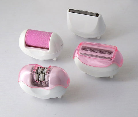 4 in 1 Rechargeable Epilator-shavercentre.com.au