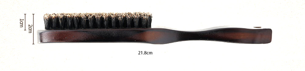Wood Handle Boar Bristle Brush-shavercentre.com.au