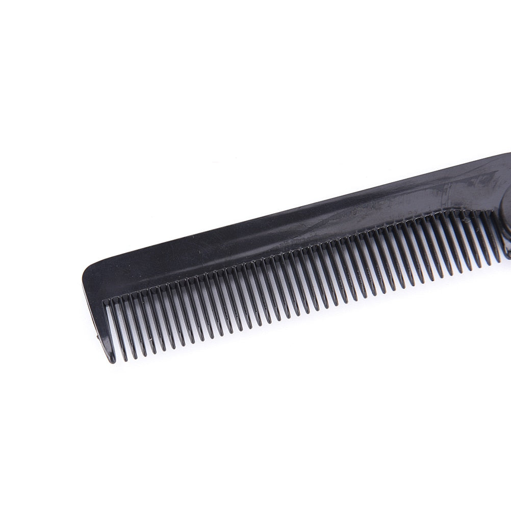 Foldable Hair Comb With Pocket Clip-shavercentre.com.au