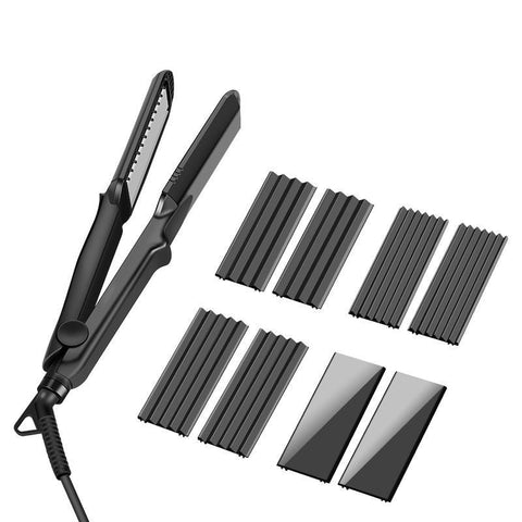 Image of 4 in 1 Interchangeable Hair Straightener-shavercentre.com.au
