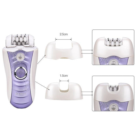 Image of 4 In1 Epilator - Shaver - Foot File - Callus Remover-shavercentre.com.au