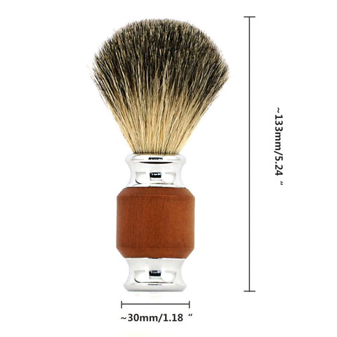 Pure Badger Hair Shaving Brush-shavercentre.com.au