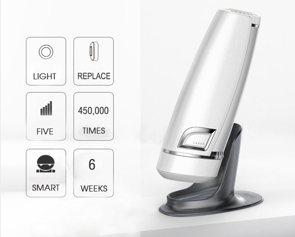 Newest 450K Flash IPL Epilator Permanent Hair Removal-shavercentre.com.au