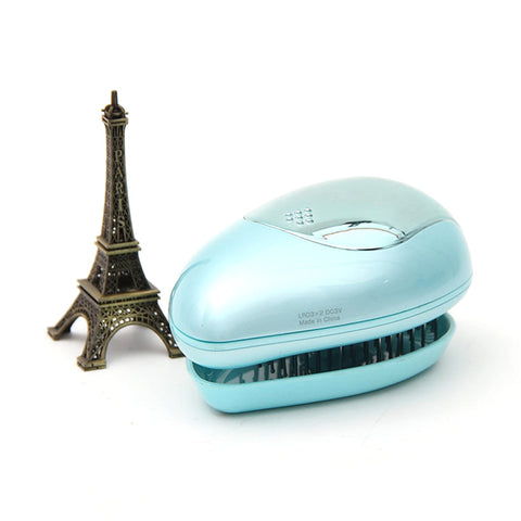 Image of Portable Electric Hair Ionic Straightener Brush-shavercentre.com.au
