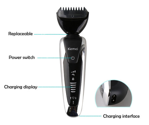 7 in 1 3D Body Grooming Set-shavercentre.com.au