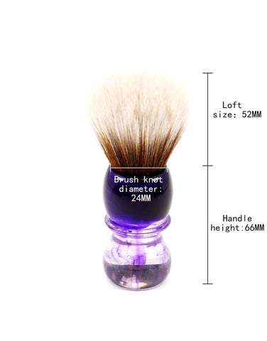 Image of Purple Haze Shaving Brush-shavercentre.com.au