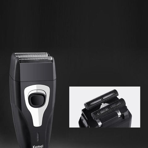 Image of Twin Reciprocating Blades Electric Shaver - Sideburn Trimmer - Flexing Blades-shavercentre.com.au