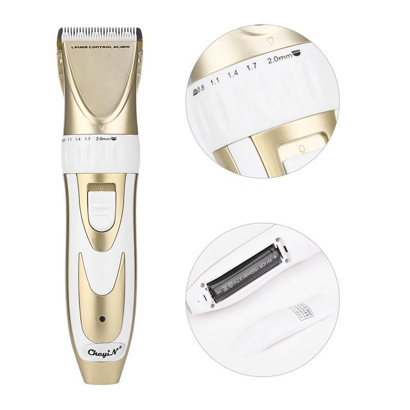 Hair Clipper - Beard Trimmer - 5 Gear Fine Tuning - 4 Limit Combs-shavercentre.com.au
