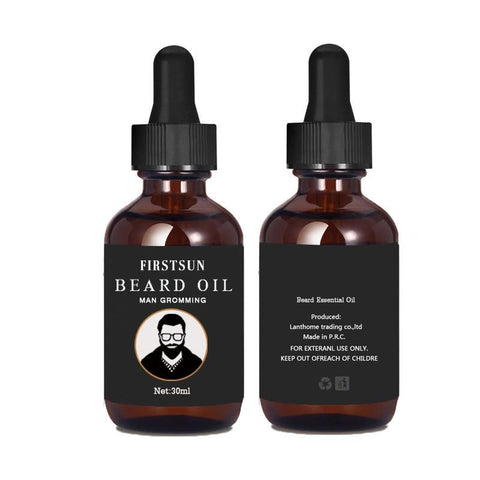 Image of FirstSun Organic Moustache And Beard Oil-shavercentre.com.au