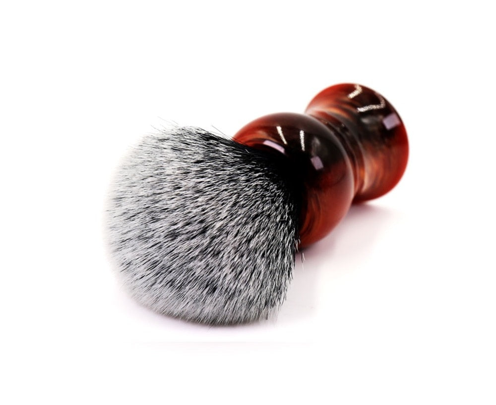 Resin Handle Shaving Brush-shavercentre.com.au