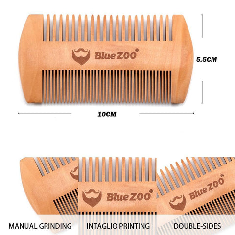 Image of Double-Side Beard Comb-shavercentre.com.au