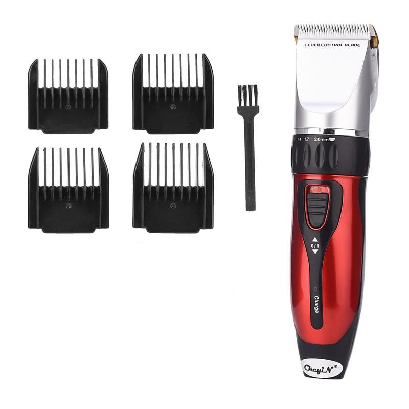 Professional Electric Hair Clipper - 5 Gear Fine Tuning For Beard Trimming - Cordless - Ceramic Blade-shavercentre.com.au