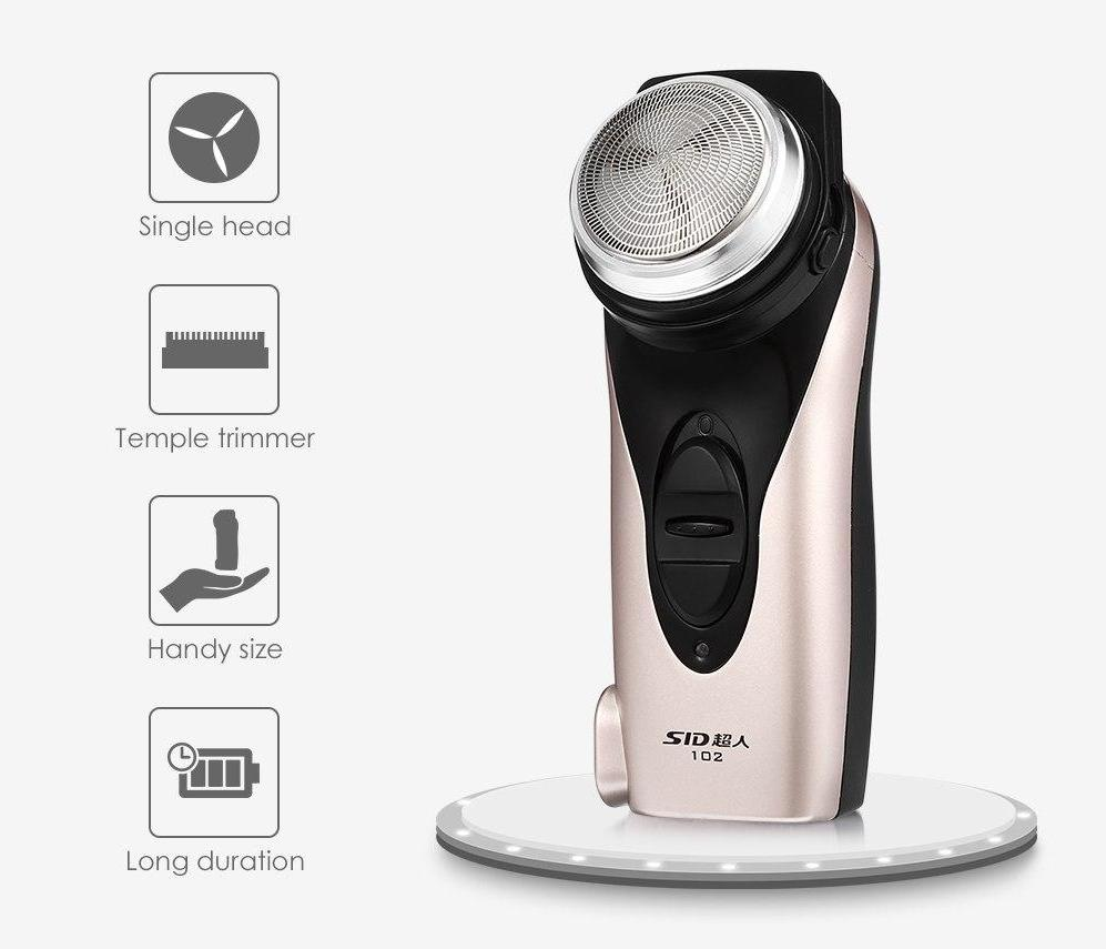 Compact Rechargeable Single-Head Shaver and Trimmer-shavercentre.com.au