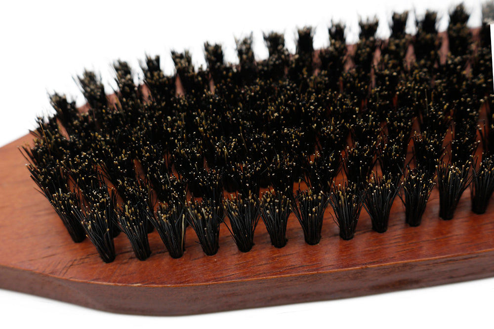 100% Pure Boar Bristle Beard Brush-shavercentre.com.au