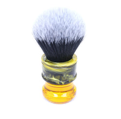 Resin Swirl Shaving Brush-shavercentre.com.au