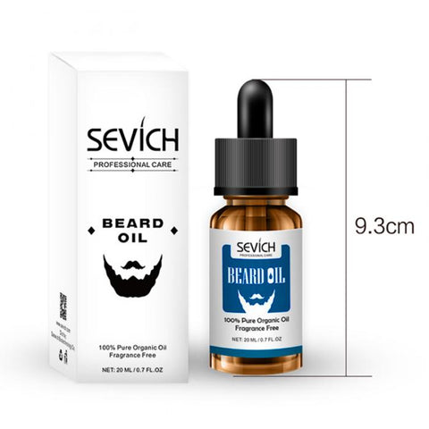 Image of Organic Beard Care Oil 20 ml-shavercentre.com.au